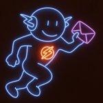 APM Emails Neon Illustration