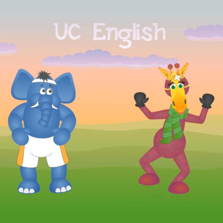 UC English animals animation