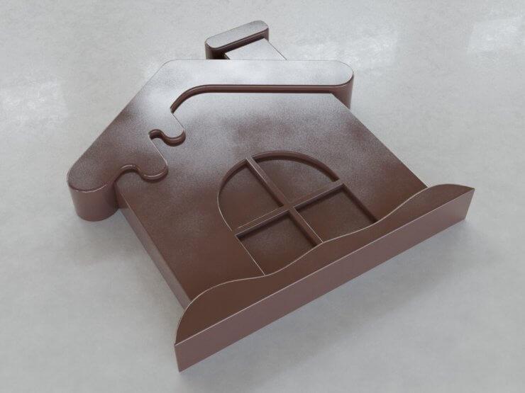 Chocolate Figures - House