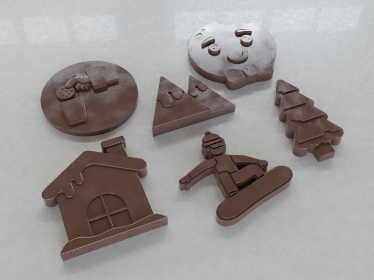 Chocolate Figures