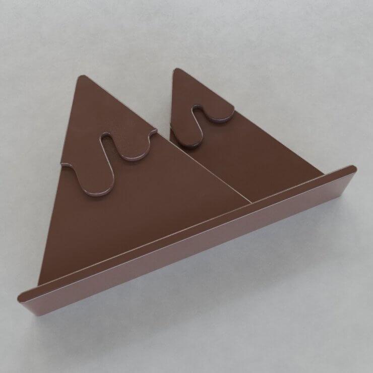 Chocolate Figures - Mountains v1