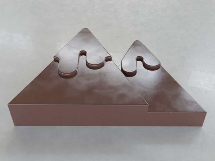 Chocolate Figures - Mountains v3