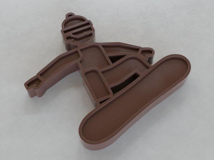 Chocolate Figures - Snowboard v1 (inwards)