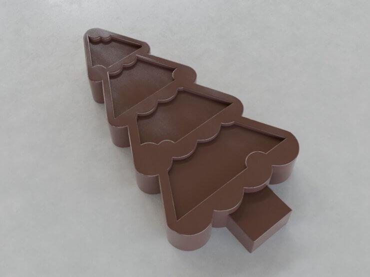 Chocolate Figures - Tree v1 (inwards)