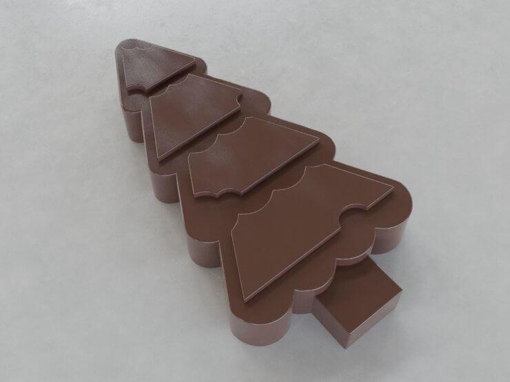 Chocolate Figures - Tree v2 (outwards)