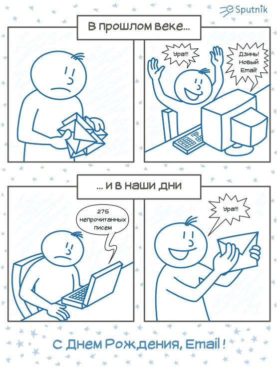 esputnik comic - email past and present