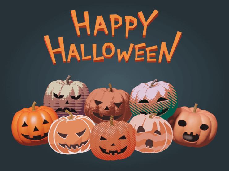 Happy Halloween (pumpkins)