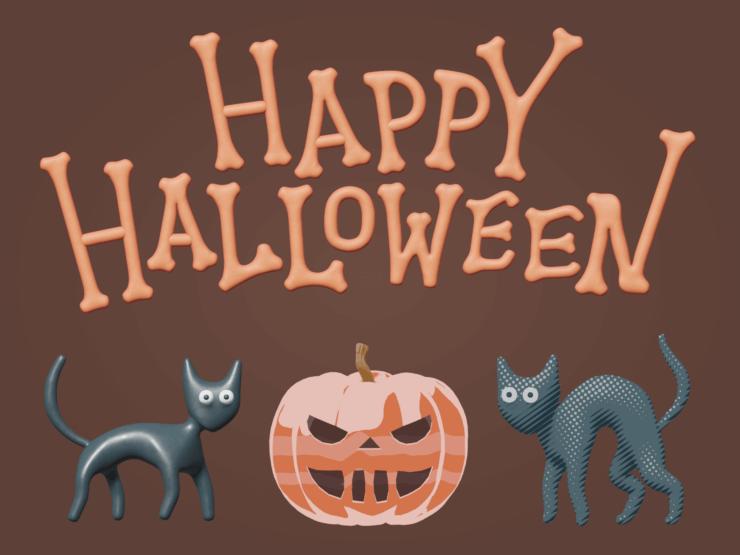 Happy Halloween (cats)