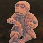 Monkey (based on Japan Netsuke)