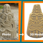 Convert picture to 3D model for printing