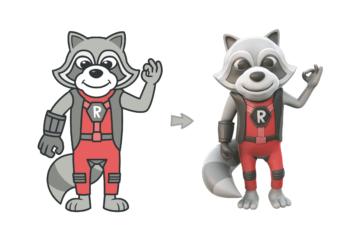 Refactoring Raccoon 2D vs 3D
