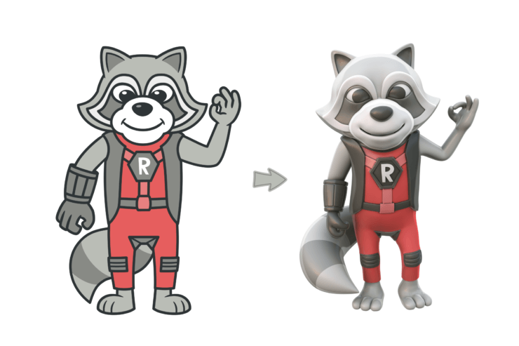Refactoring Raccoon 2D vs 3D