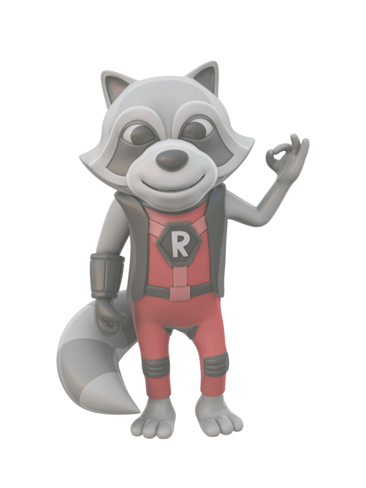 Refactoring Raccoon 3D OK - Painterly