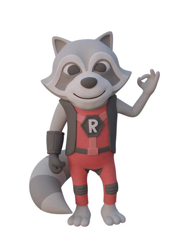 Refactoring Raccoon 3D OK - Skin Base