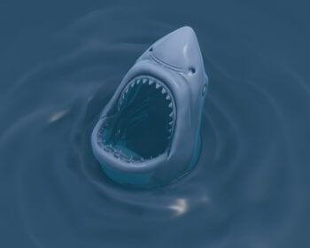 Shark Head model for 3D printing (1)