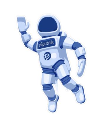 eSputnik Astronaut Stickers