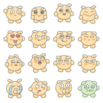 Blabby Blob Emotions — Animated Stickers