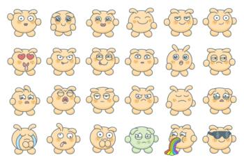 Blabby Blob Emotions — Animated Stickers (full)