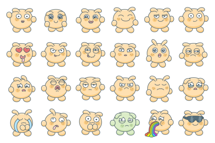 Blabby Blob – Animated Stickers
