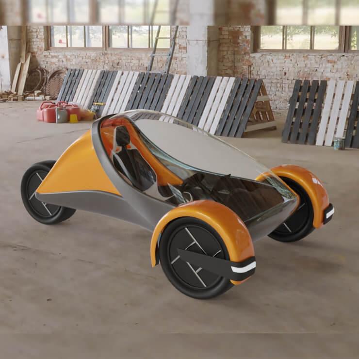 Futuristic Trike