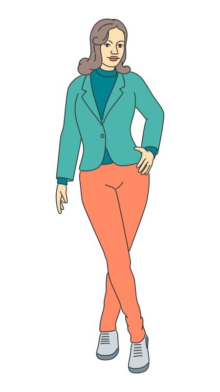 Woman Standing (07)